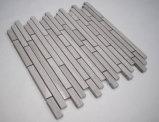 Mattonelle di mosaico di pietra di marmo lineari della quercia bianca di Backsplash della cucina dei fornitori della Cina