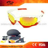 Deportes al aire libre más populares Windproof Unisex Ciclismo gafas de sol con accesorios