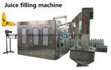 Frasco de plástico automática 3 em 1 de sumo de laranja do equipamento de processamento de enchimento a quente
