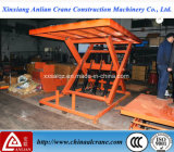 Capacidade de 1 t mesa de trabalho hidráulico