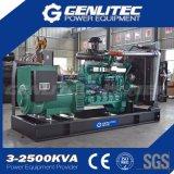 De Diesel van de Motor 100kVA Yuchai Reeks in drie stadia van de Generator