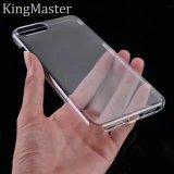 [Master 임금] 투명한 0.12$ iPhone8 PC 광택 있는 전화 상자 TPU 전화 덮개