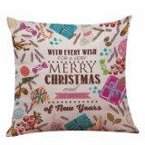 크리스마스 장식적인 귀여운 베개 케이스