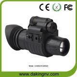 Télescope monoculaire militaire de vision nocturne de Gen2+ IR avec la lentille 1X (D-M2021)