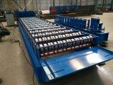 Roulis en acier de panneau de toit de presse à mouler de tuile de Galzed formant la machine