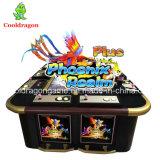 Tarjeta de juego del juego de Phoenix de la arcada del vector de juego de los pescados de la máquina de juego de la pesca