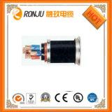 Aplicação da instrumentação e fumo material do condutor do cobre baixo zero cabos de controle do halogênio