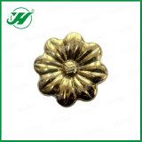 Flor decorativa de los ornamentos del acero inoxidable