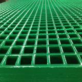 1.22m*2.44m*38mm caillebotis en fibre de verre renforcé des eaux usées