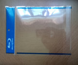 OPPは青い光線のロゴのOPPの袖OPP袋OPP袋にスリーブを付ける
