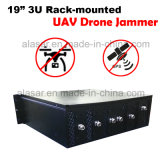 Vehicle-Mounted Rack-Mounted intercepción de aviones no tripulados Uav 433, 915, 2.4, GPS, 5.8G Jammer