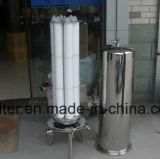 SS316 do Alojamento do filtro de cartucho sanitárias SS304 aço inoxidável para filtração de vinho cerveja líquido