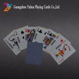 Tarjetas que juegan de base de las tarjetas que juegan del casino negro del papel