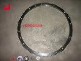 Weichai Wd615エンジンのトラックの部品(Vg2600020208)のためのフライホイールのリングギヤ