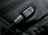 Saco cobrando impermeável contra-roubo do USB, trouxa, saco do portátil, saco Yf-Pb01125 do negócio