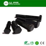 M10等級8.8の黒い酸化物の罰金の糸の十六進ボルトDIN933