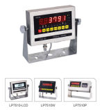 표시기의 무게를 다는 Lp7510p 스테인리스 가늠자 디지털