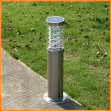 Lampe solaire de pelouse de DEL pour l'éclairage extérieur de Pôle d'horizontal de jardin