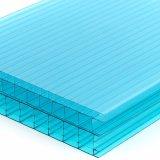 紫外線保護の習慣カラー空のポリカーボネートの屋根ふきシートを等級別にしなさい