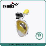 180 Vista respiração livre Anti-Fog & Anti-Leak Snorkeling com snorkel facial completa