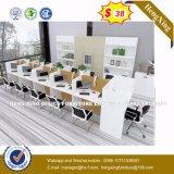 4 sièges forme de L'Office de station de travail du personnel de cluster de partition (HX-8NR0008)