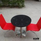 現代固体表面の石造りの円形の食卓(T170821)