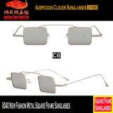 8040 óculos de sol novos do frame do quadrado do metal da forma