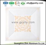 Usine décoratifs en aluminium de faux plafond en métal avec la norme ISO9001