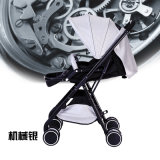 Die Fabrik, die, leicht, waschbar, faltend Großhandels ist, tragen Baby-einfachen Aluminiumlegierung-Baby-Spaziergänger