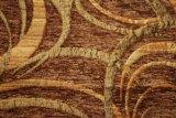 Tissu de dessin géométrique de Chenille pour le sofa