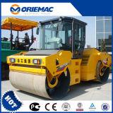 12 tonnes Oriemac hydraulique de la route de tambour double rouleau vibratoire XD121e