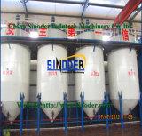 Cadena de producción del aceite de cocina de la planta de refinería del aceite de mesa