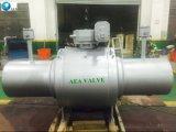 ロシアの熱の供給のパイプラインはGOSTの十分に溶接されたTunnionによって取付けられた球弁を使用した