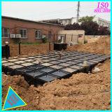 Бак для хранения воды 50000 литров ОН нелегально гальванизированный стальной