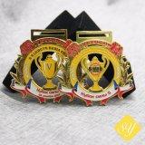 Bester Verkaufs-Fußball Soccor Baseball-Großhandelsdecklack-laufendes Medaillen-Farbband