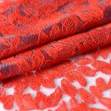 Tessuto africano del merletto dell'ultimo di disegno del ricamo della guipure tessuto del merletto per i vestiti da cerimonia nuziale
