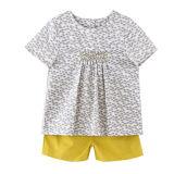 Maglietta di estate delle ragazze dell'abito dei bambini del cotone