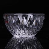 Hoher Quanlity Tafelgeschirr-Diamant geprägte Glasfilterglocke