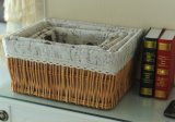 Eco-Friendly (BC-ST1002)를 가진 Handmade Wicker Storage Basket