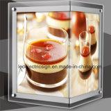 Acrylic mince Sheet avec l'Afficheur LED Board de Crystal Glass
