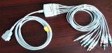 Ge Marquette 15pin IEC 트렁크 10 EKG/ECG 케이블