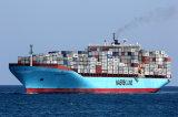 Maersk de confiança que envia a Mindelo/Praia, Cabo Verde