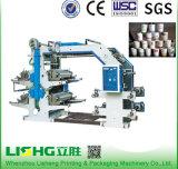 Imprimante UV 2 de sac de film plastique de cuvette de papier pour étiquettes de PE de la pile BOPP de PVC de clinquant à grande vitesse couleur 6 8 4