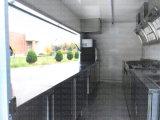 제조자 뉴 사우스 웨일스 고품질 2 차축 벽 측 음식 트레일러