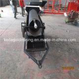 Portable personnalisé alluvions aurifères de la rondelle Trommel pour la vente de la machine