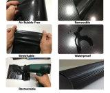 gráficos del coche del vinilo de la fibra del carbón 3D