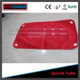 Personalizado transparente tubo de cuarzo pulido