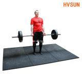 Resilienza calda di vendite e mattoni di gomma riciclati Shockproof per zona del peso di Crossfit di forma fisica di ginnastica