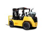 Neuer 6 Tonne 2018 Hochleistungs-LPG-Gabelstapler mit Triplex Mast