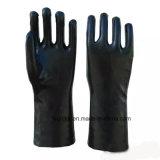Стороны защитной ПВХ домашнего хозяйства рабочие перчатки